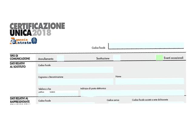 Certificazione Unica 2018: Quando Scade E Come Inviarla
